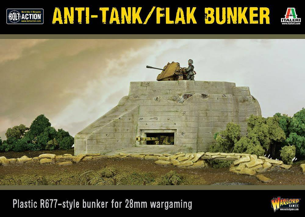 Warlord Games (WLG) 28mm ANTI TANK FLAK BUNKER