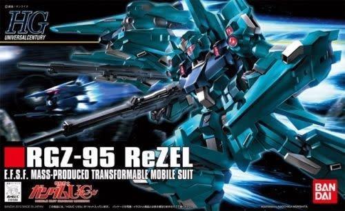 Bandai (BAN) 1/144 RGZ-95 Rezel Gundam