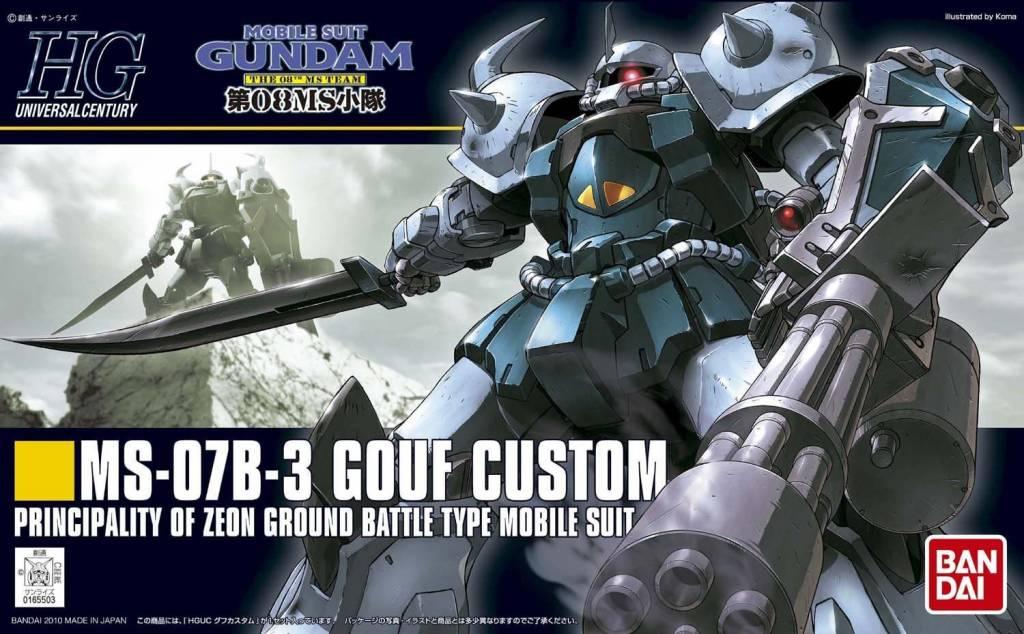 Bandai (BAN) 1/144 MS-07B-3  Gouf Custom HG UC