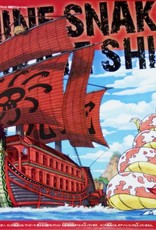 Bandai (BAN) 06 Kuja Nine Snake Pirates Ship - One Piece