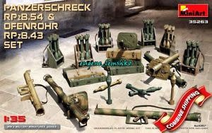 MiniArt (MNA) 1/35 Panzerschreck & Ofenrohr Rocket Launchers