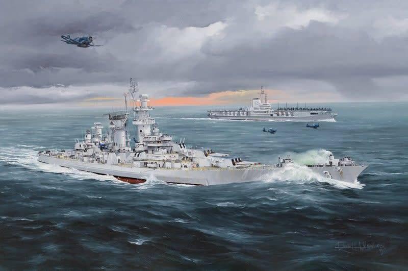 Hobby Boss (HBO) 1/350 USS Hawaii CB-3