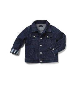 Blue and Blu Classic Denim Jacket, Dark Wash