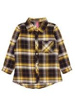 Cutie Patootie Plaid Flannel Shirts