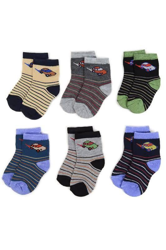 Selini Boy's Toddler Socks Pack