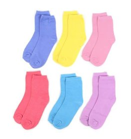 Selini Girls Crew Socks Pack