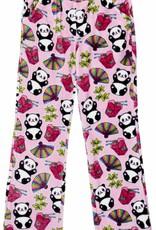 Candy Pink Girl's Fleece Long PJ's