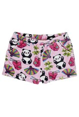 Candy Pink Fleece Shorts