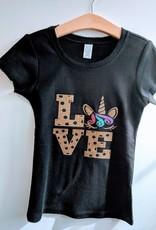 JuJuBee Glitter Graphic T-shirt
