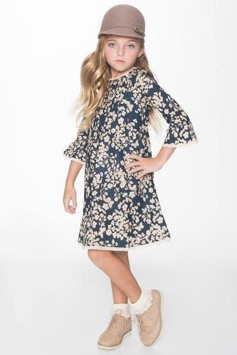 Yo Baby Bell Sleeve Dress