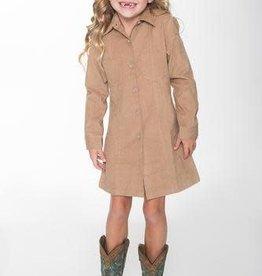 Yo Baby Corduroy Shirt Dress
