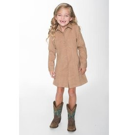 Yo Baby Corduroy Shirt Dress