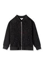 Art & Eden Charlotte Bomber Jacket and Pant, Black   Size 4