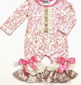 Ilylily Long Sleeve Baby Girl Romper
