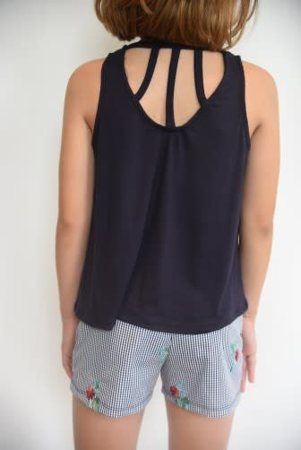 Area Code 407 Swing Tank Top With Back Straps