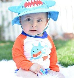 Zoocchini Baby Swim Set w/Rash Guard Top