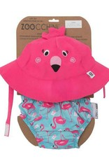Zoocchini Baby Swim Set w/Rash Guard Top