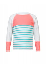 Snapperrock Swimwear Girl LS Rashguard