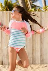Snapperrock Swimwear Girl LS Rashguard