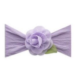 Baby Bling Rosette Leaf Headband Bow