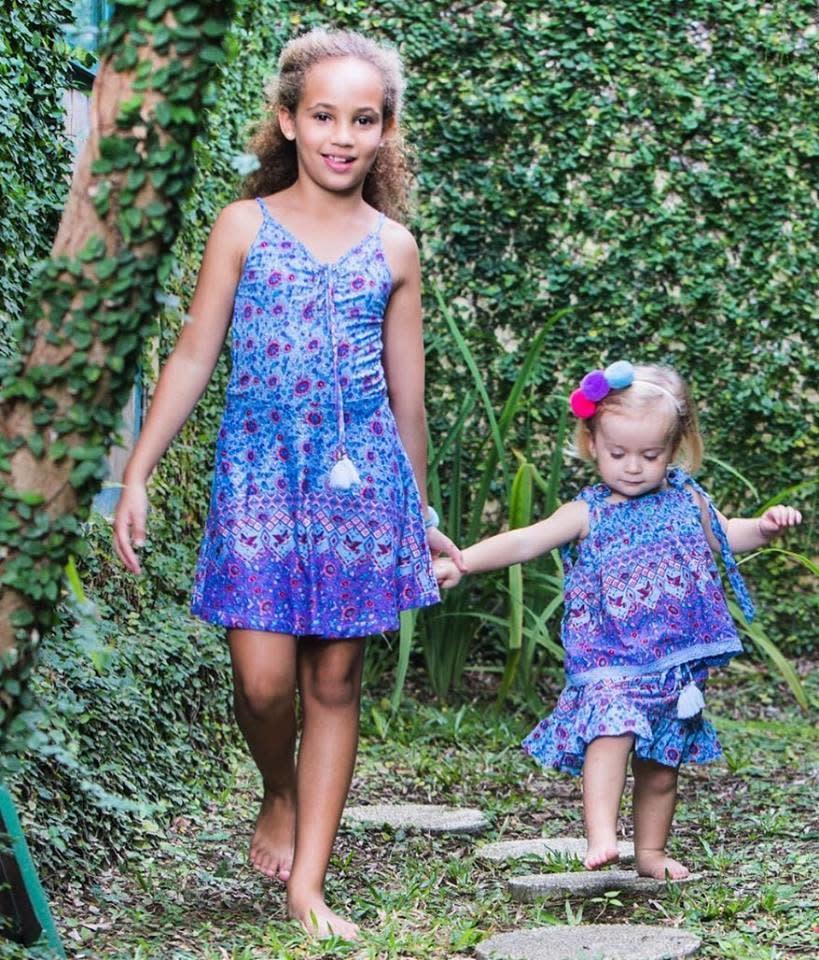 Bela & Nuni Girl's Boho Summer Dresses