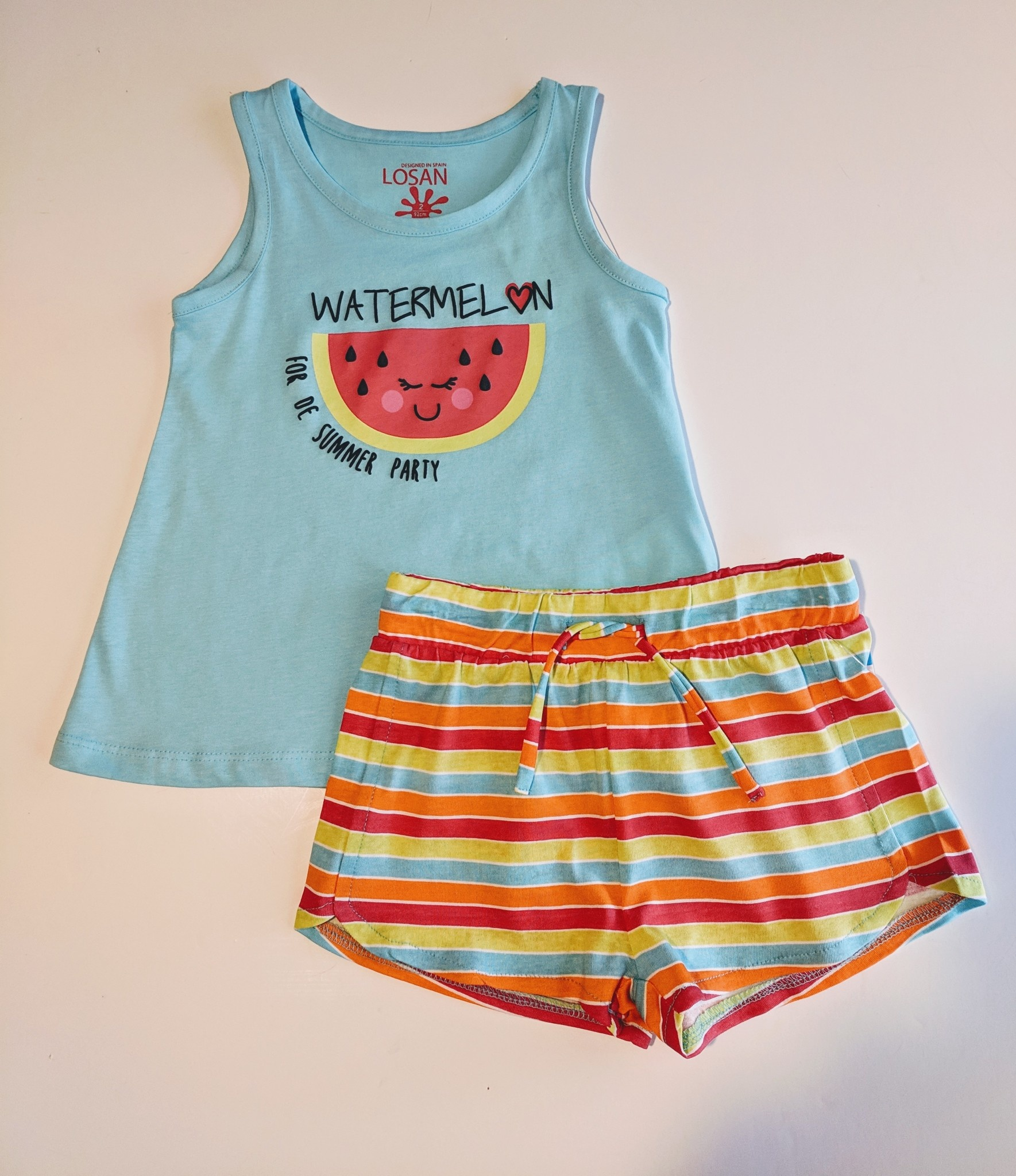 2e5b06d83f4d8 Girl's Short and Tee Set - www.jambabykids.com