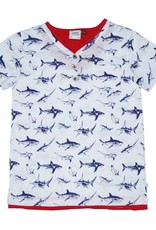 Fore Boy's Short Sleeve Henley