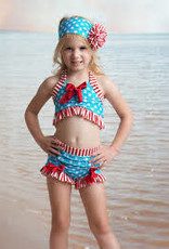 Muddy Feet 2 pc Flapper Bikini