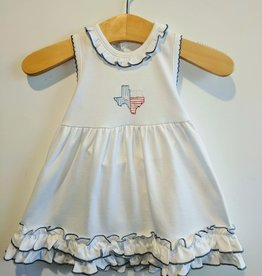 Embroidered Texas Dress / Bloomer set