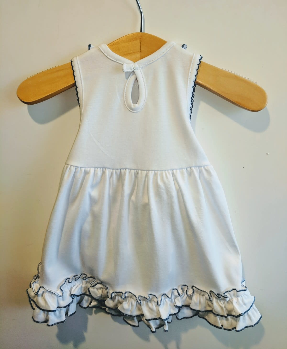 Magnolia Baby Embroidered Texas Dress / Bloomer set
