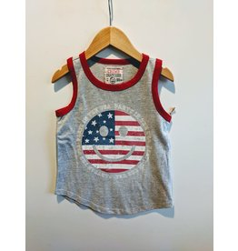 Crumb Snatcher Smile Flag Tank Top