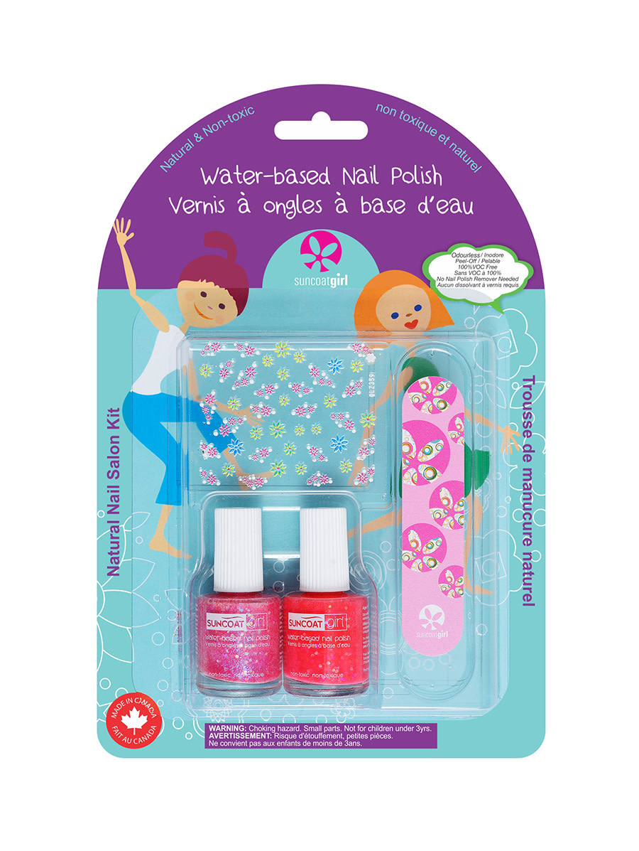 Suncoat Nail Polish Water-based Nail Polish Kit