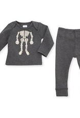 Infant Skeleton 2 pc Outfit
