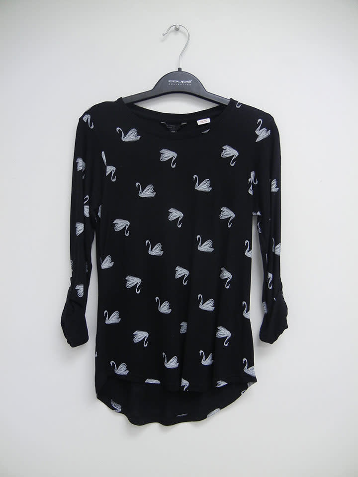 Coupe Collection Girl's Swan Top