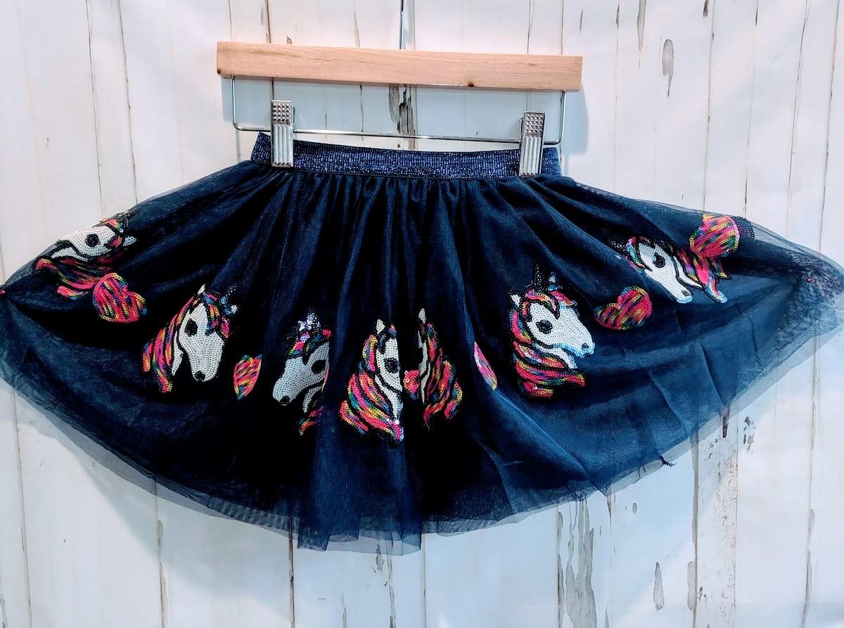Sequined Unicorn Skirt