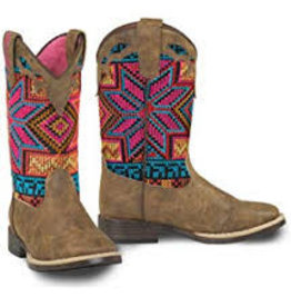 Twister Girl's Western Boots