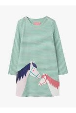 Joules Long Sleeve A-Line Dress