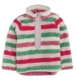 Joules Girl's Pull Over Zipper Fleece Jacket
