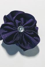 Mini Flower Bow w/Bling