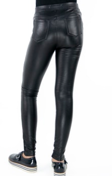 Tractr Faux Leather Skinny Pants