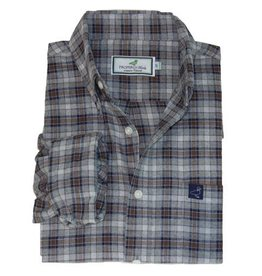 Properly Tied Boy's Button-Up Flannel Shirt