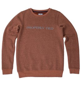 Properly Tied Long Sleeve Crew Sweatshirt