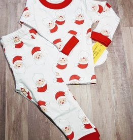 Magnolia Baby Long Sleeve Santa Pajamas