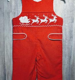Mom n Me Baby Boy Christmas Romper/Coverall