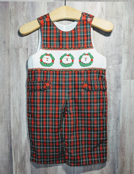 Mom n Me Baby Boy Christmas Romper/Coverall