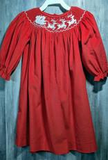 Mom n Me Smocked Christmas Dresses