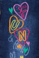 Losan Embroidered Jeans