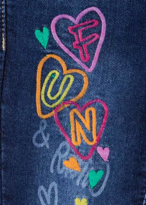 Losan Embroideried Jeans