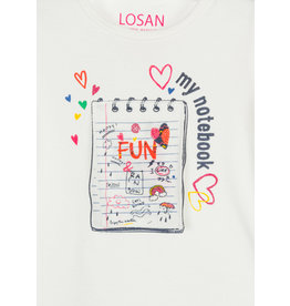 Losan Girl's L/S Basic Tops