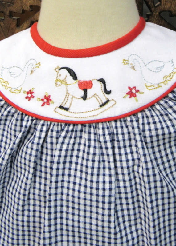 Will' Beth Toddler L/S Christmas Dress